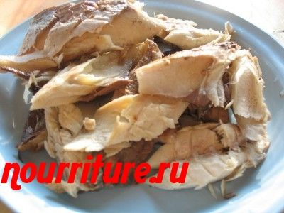 Рыбный салат по-португальски