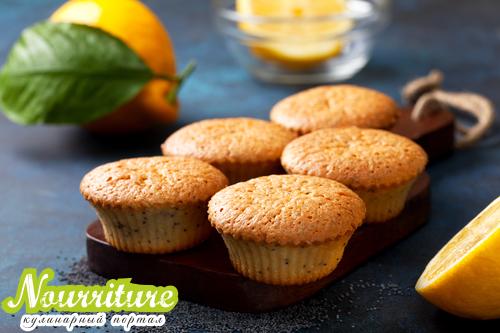 Лимонно-маковый кекс по-немецки