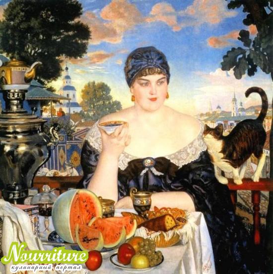 Вкусные картины: полотна Кустодиева