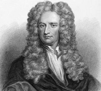 """Ньютон принимает у себя гостей (из романа И. Егоровой """"Тайный архив Исаака Ньютона"""")"""