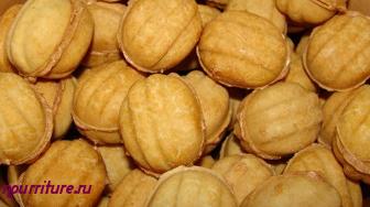 """Печенье """"Орешки"""" (выпекается в формах)"""