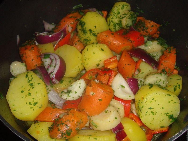 Овощные гарниры рецепты с фото