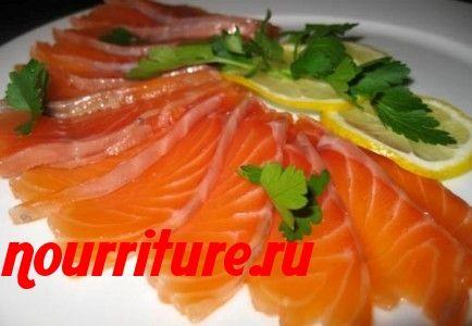 Деликатесная рыба холодного копчения (лососина, кета, сёмга)