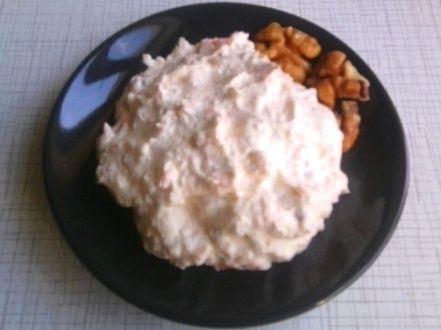 Бутербродная паста из творога с морковью
