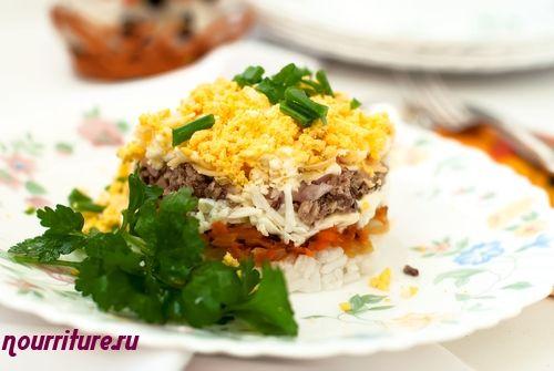 Салат из шпротов «Мимоза»
