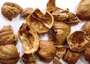Зола из скорлупы грецких орехов
