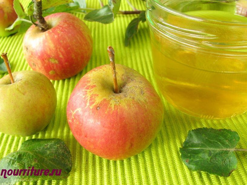 Яблоки в желе по-польски