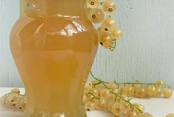 Сок из белой смородины