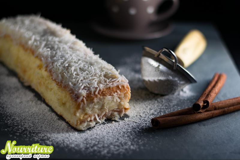 Исландский кокосовый пирог