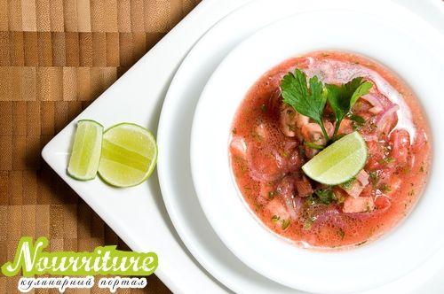 Маринад из овощей с томатом