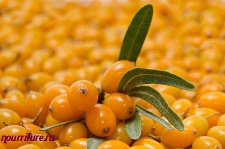 Мусс из плодов облепихи (с желатином)