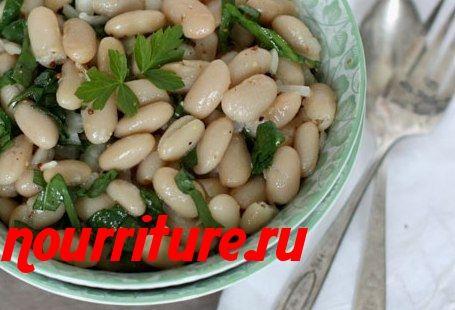 Бобовая фасоль или чечевица  в масле