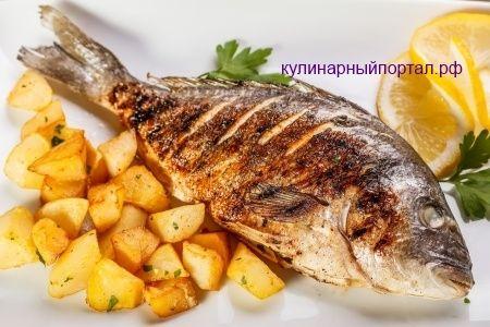 Жареная рыба рецепты