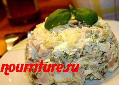 Разные рецепты салатов
