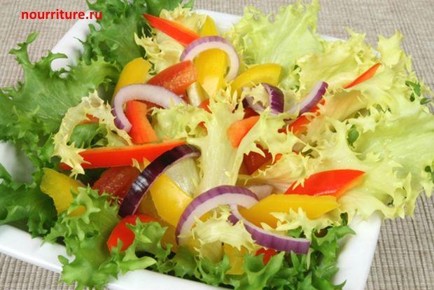 Рецепты вегетарианских салатов фото