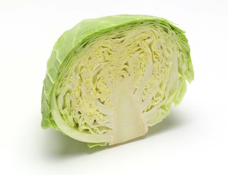 Корень и стебель (кочерыжка) белокочанной капусты