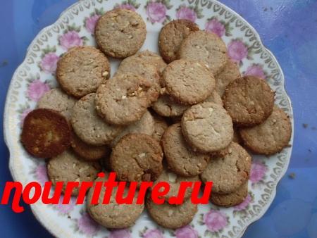 Рождественское печенье с апельсиновыми цукатами