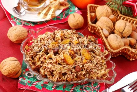 Антихолестериновая паста (макароны) с орехами и сухофруктами (при повышенном холестерине)