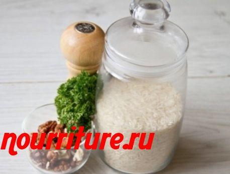 Салат «Японский» с рисом
