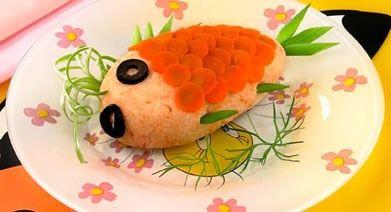 Диетический паштет из рыбы с морковью (для бутербродов)