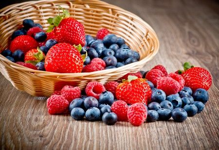 Рецепты с фруктами и ягодами