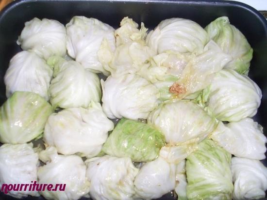 Голубцы овощные