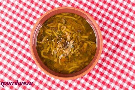 Суп с макаронными изделиями