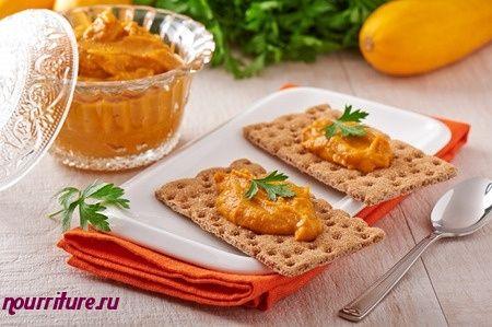 Бутерброды с кабачковой икрой и маслом