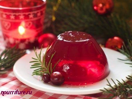 Желе из свежих ягод