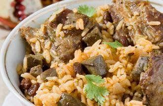 Полуфабрикаты из баранины, свинины и телятины: рагу из баранины, плов, пилав, люля-кебаб