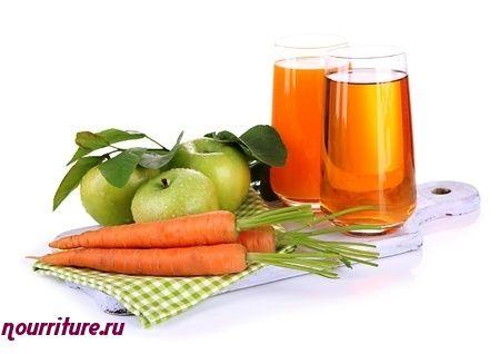 Морковно-капустно-яблочный сок для повышения иммунитета