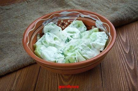 Польская кухня: польские салаты (мизерия, салат из краснокочанной капусты) Кухни народов мира