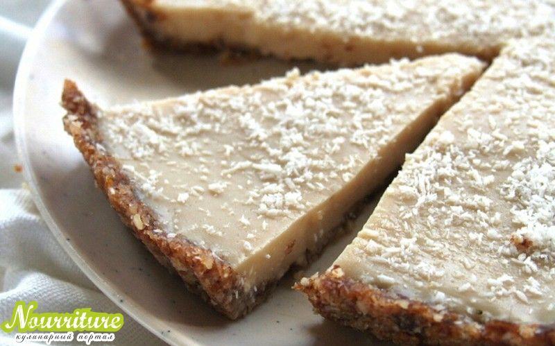 Кокосовый пирог без выпечки