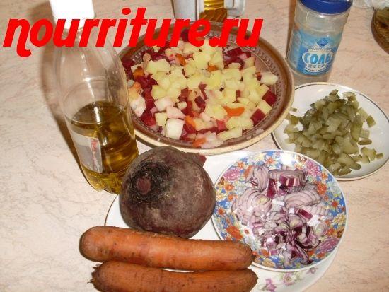 В чём особенность приготовления винегретов