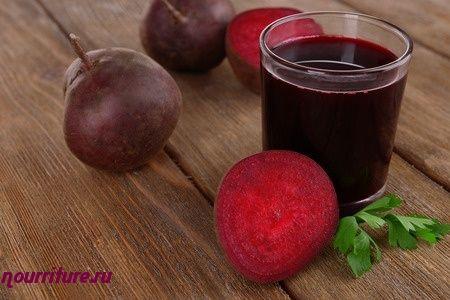 Свекольный сок при язвах и нарывах на коже