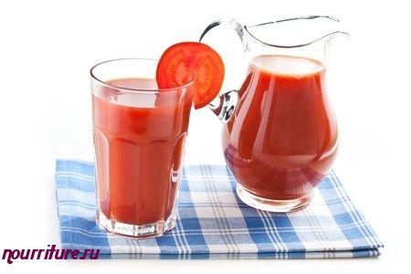 Напиток томатный со сметаной