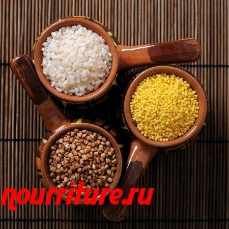 Калитки с пшённой или рисовой кашей