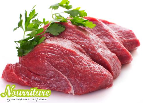 Суфле из отварного мяса при болезнях печени
