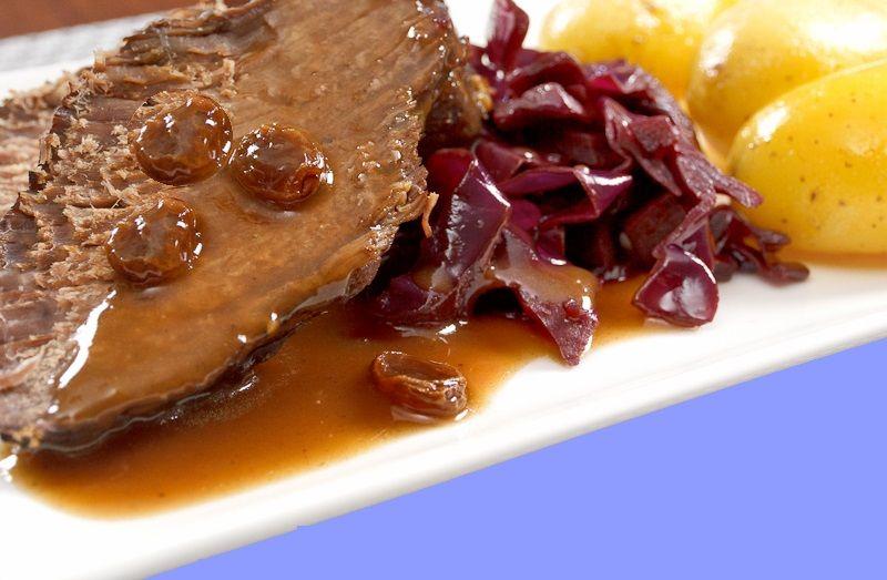 Региональная кухня Германии: маринованное жаркое по-рейнски Кухни народов мира