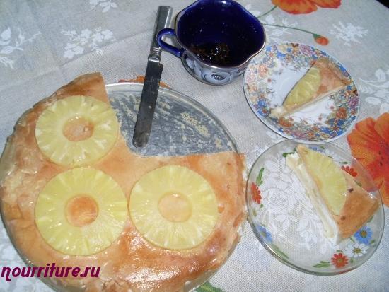 Торт сливочно-ананасовый