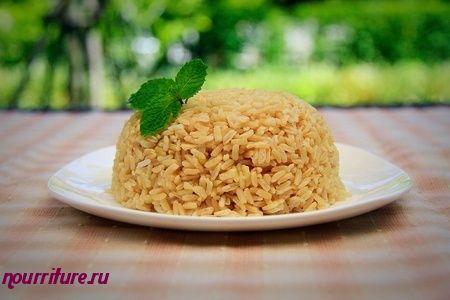 Рис рассыпчатый коричневый