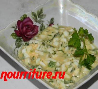 Соус яично-масляный к рыбе