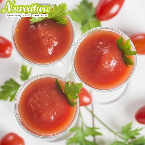Стишок о пользе петрушки и томатного сока