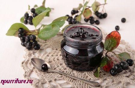 Варенье из аронии черноплодной (черноплодной рябины)