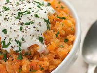 Салат из сырой моркови с хреном