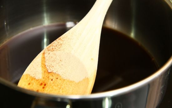 Кофейная глазурь