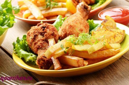 Курица или цыплёнок фри