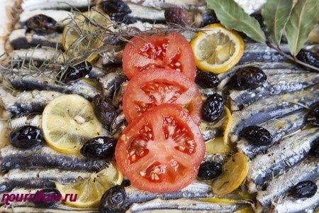 Паста из сардин или шпрот