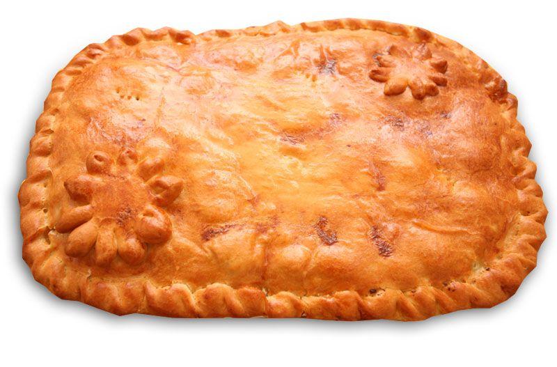 Пирог со сморчками