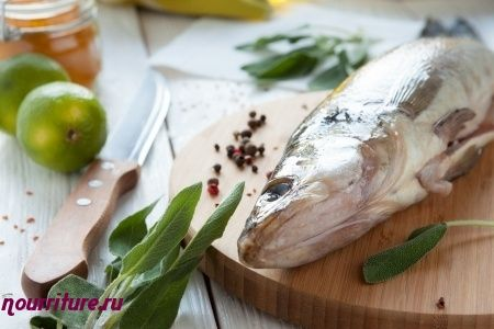 Постная рыба под рассольным соусом